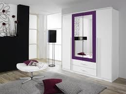 Schlafzimmerm El Mit Viel Stauraum Rauch Kleiderschrank Mit Spiegel 4 Türig Weiß Alpin Absetzung