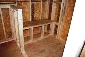 Building A Shower Bench Interior Framing And Such Part One U2013 Let U0027s Face The Music