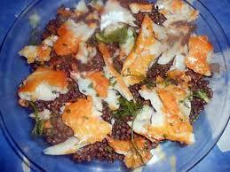 cuisiner haddock recette de salade tiede de lentilles au haddock
