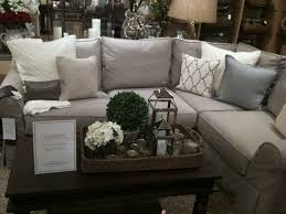 pottery barn livingroom chair amusing coffee table and unique grey sectional sofa with