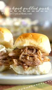 bbq pulled pork crockpot recipe the typical mom