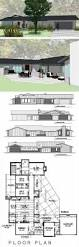 8 cliff may inspired ranch house plans from houseplans com retro