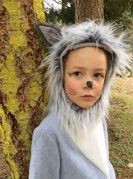 Wolf Costume Grey Wolf Halloween Kids Costume For Boys Or Girls Toddler