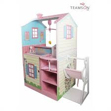 teamson kids pink baby nursery doll house td 11460a