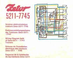 zetor tractor 5211 7745 electrical shematics auto repair manual