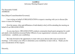 meeting appointment letter templates 6 samples examples u0026 formats