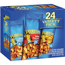 Planters Cocktail Peanuts by Planters Cashew U0026 Peanut Variety Pack 24 Pack