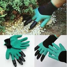 garden genie gloves gardening for digging u0026planting with4 abs