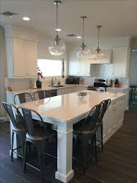 kitchen island with attached table kitchen island table ideas medicaldigest co