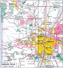 map of us cities colorado maps perry castañeda map collection ut library
