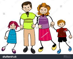 my family vector stock vector 18221152