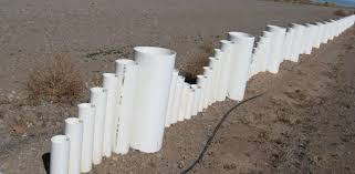 Pvc Pipe Trellis How To Make A Fence From Recycled Plastic Pvc Pipe Today U0027s Homeowner
