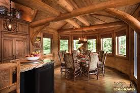 large log cabin floor plans south carolina log home floor plan by golden eagle homes vacation