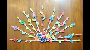 How To Home Decor Diy Home Door Decor Idea Paper Crafts For Home Decoration
