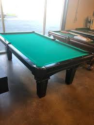 refelting a pool table pool table charlotte nc preowned 8 original cherry pool table pool