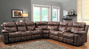 Brown Leather Recliner Sofa Sectional Reclining Sofa U2013 Stjames Me