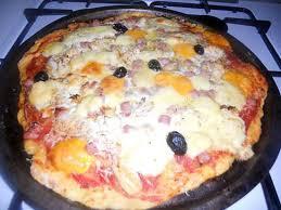 amour de cuisine pizza recette de pizza jambon fromage