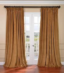 Velvet Curtains Ready Made Crushed Velvet Curtains Scifihits Com