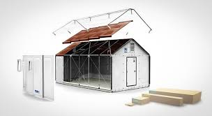 ikea homes ikea designs pre made tiny homes to send to refugee cs around
