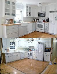 relooking cuisine avant apr鑚 cuisine repeinte en blanc