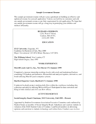 Format Of A Resume For A Job by Example Of Resume For Applying Job