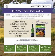 organic wines uncorked montinore s borealis featured on rachael