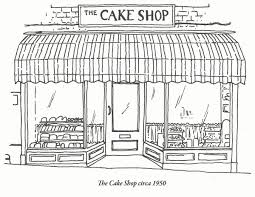 illustration u2013 art u2013 design lewis heriz the cake shop bakery