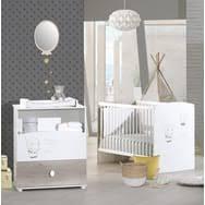 photo chambre bebe chambre bébé pas cher à prix auchan meubles décoration