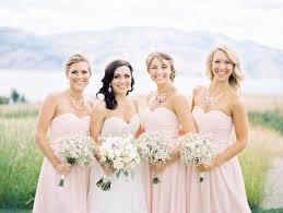 bridesmaid statement necklaces west kelowna bc canada wedding trendy magazine