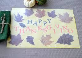 thanksgiving placemats diy decor 14 thanksgiving placemat ideas