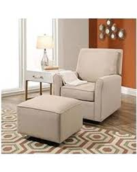 Glider Chair With Ottoman Sale Sale Leyla Gliding Chair And Gliding Ottoman Beige