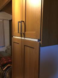 Kitchen Wall Units Ikea Kitchen Wall Units With Tidaholm Solid Oak Doors In Duns