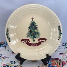fiestaware tree dinner plate 2016 claret