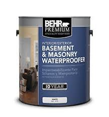 exterior basement and masonry waterproofer behr premium behr