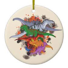 dinosaur ornaments keepsake ornaments zazzle