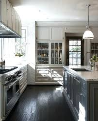 Grey Kitchen Cabinets With White Appliances Dark Gray Kitchen Cabinets U2013 Colorviewfinder Co