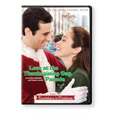 at the thanksgiving day parade hallmark channel dvd