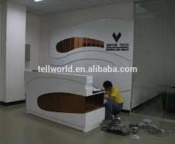 High End Reception Desks High End Spa Salons Reception Counter Table Led Service Counter