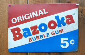 Metal Signs Home Decor Original Bazooka Bubble Gum Tin Metal Sign Candy Shop Home Kitchen