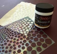 deco foil experimenting with icraft deco foil judy gula fiber mixed