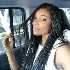 gabrielle union steps out with a fresh set of box braids