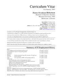 What Is The Summary In A Resume What Hobbies To Put On A Resume Free Resume Example And Writing