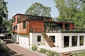 11 shipping containers went into this cozy pennsylvania home curbed