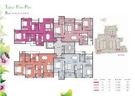 02 floor plan prestige kew gardens bangalore floor plans