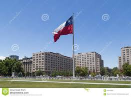 Cile Flag Chilean Flag Santiago De Chile Editorial Image Image 63700455