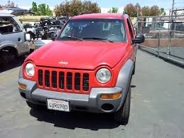 flame red jeep used salvage parts 2002 jeep liberty sport 4x4 3 7l v6 4 speed