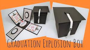graduation box graduation explosion box tutorial