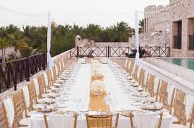 wedding setup sanctuary cap cana wedding reception table set up archives