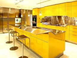 delightful yellow kitchen design ideas featuring rectangle shape