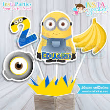 minions centerpieces minions centerpieces birthday party minion centerpiece pink